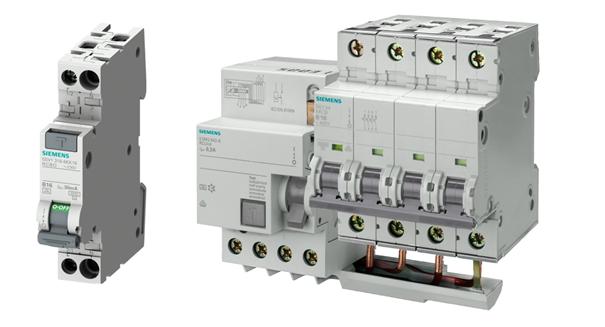 Wyłączniki różnicowoprądowe Siemens
