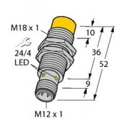 NI14-M18-AP6X-H1141 - Czujnik indukcyjny z rozszerzonym zakresem detekcji – 4611400