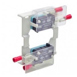 KU 2.V - Płytka osłonowa zacisków do KU z dwoma stykami pomocniczymi