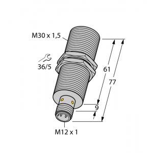 BI15-M30E-LIU-H1141 - Czujnik indukcyjny – 1535563