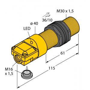 BI10-P30SR-AP6X - Czujnik indukcyjny – 16116