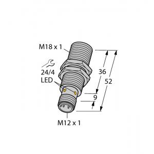 BI10U-M18-AP6X-H1141 - Czujnik indukcyjny – 1644830