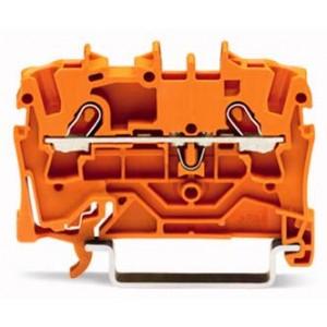 2001-1202 - TOPJOBS złączka 2-przewodowa 1,5 mm&sup2, pomarańczowa