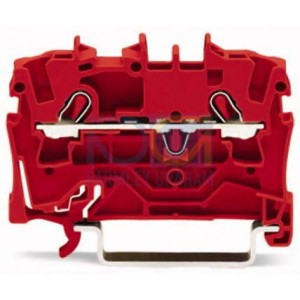 2001-1203 - TOPJOBS złączka 2-przewodowa 1,5 mm&sup2, czerwona
