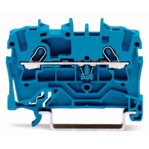 2001-1204 - TOPJOBS złączka 2-przewodowa 1,5 mm&sup2, niebieska