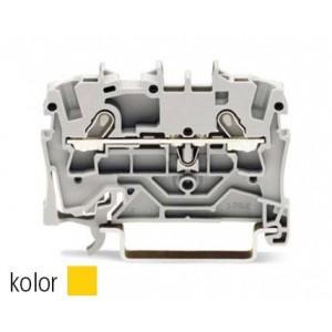 2001-1206 - TOPJOBS złączka 2-przewodowa 1,5 mm&sup2, żółta