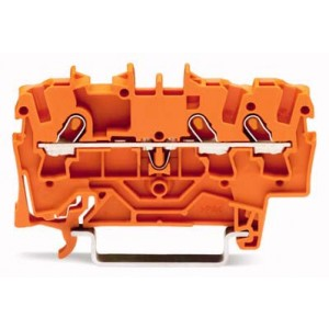 2001-1302 - TOPJOBS złączka 3-przewodowa 1,5 mm&sup2, pomarańczowa