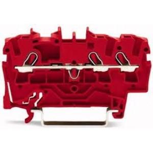 2001-1303 - TOPJOBS złączka 3-przewodowa 1,5 mm&sup2, czerwona