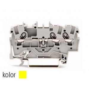 2001-1306 - TOPJOBS złączka 3-przewodowa 1,5 mm&sup2, żółta