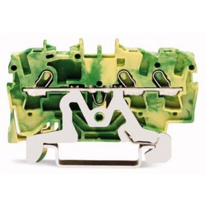 2001-1307 - TOPJOBS złączka 3-przewodowa 1,5 mm&sup2, żółto-zielona