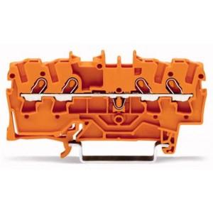 2001-1402 TOPJOBS złączka 4-przewodowa 1,5 mm² pomarańczowa