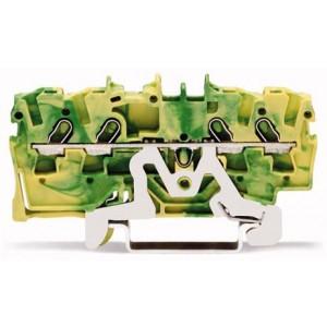 2001-1407 - TOPJOBS złączka 4-przewodowa 1,5 mm&sup2, żółto-zielona