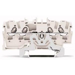 2001-1408 - TOPJOBS złączka 4-przewodowa 1,5 mm&sup2, biała