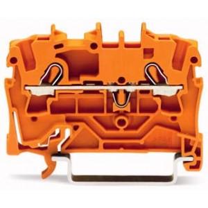 2002-1202 - TOPJOBS złączka 2-przewodowa 2,5 mm&sup2, pomarańczowa