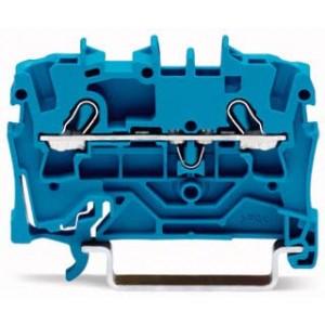 2002-1204 - TOPJOBS złączka 2-przewodowa 2,5 mm&sup2, niebieska
