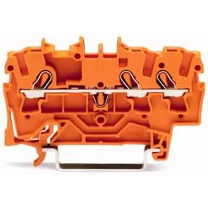 2002-1302 TOPJOBS złączka 3-przewodowa 2,5 mm² pomarańczowa