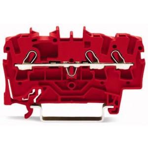 2002-1303 TOPJOBS złączka 3-przewodowa 2,5 mm² czerwona