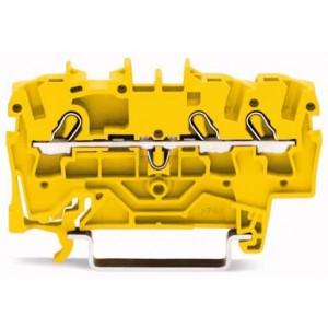 2002-1306 TOPJOBS złączka 3-przewodowa 2,5 mm² żółta