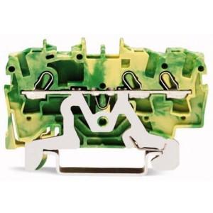 2002-1307 - TOPJOBS złączka 3-przewodowa 2,5 mm&sup2, żółto-zielona
