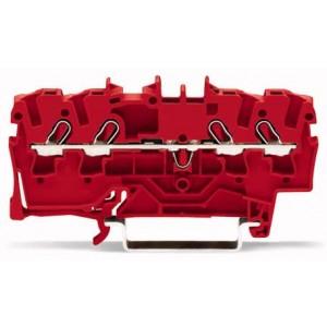 2002-1403 - TOPJOBS złączka 4-przewodowa 2,5 mm&sup2, czerwona