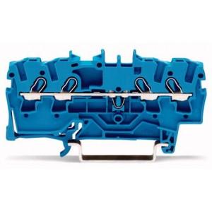 2002-1404 - TOPJOBS złączka 4-przewodowa 2,5 mm&sup2, niebieska