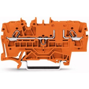 2002-1602 TOPJOBS złączka 2-przewodowa 2,5 mm² pomarańczowa