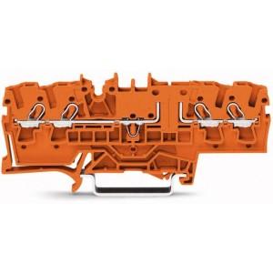 2002-1802 TOPJOBS złączka 4-przewodowa 2,5 mm² pomarańczowa