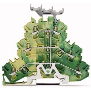 2002-3237 TOPJOBS złączka 3-piętrowa 2,5 mm² zółto-zielona