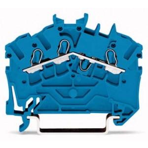 2002-6304 TOPJOBS złączka 3-przewodowa 2,5 mm² niebieska
