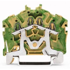 2002-6407 TOPJOBS złączka 4-przewodowa 2,5 mm² żółto-zielona