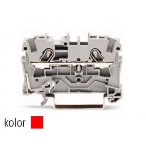 2004-1203 TOPJOBS złączka 2-przewodowa 4 mm² czerwona