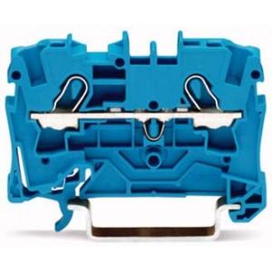 2004-1204 - TOPJOBS złączka 2-przewodowa 4 mm&sup2, niebieska