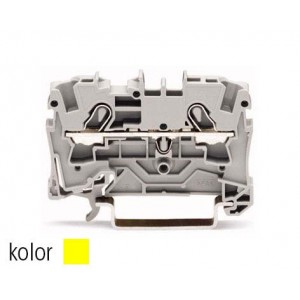 2004-1206 - TOPJOBS złączka 2-przewodowa 4 mm&sup2, żółta