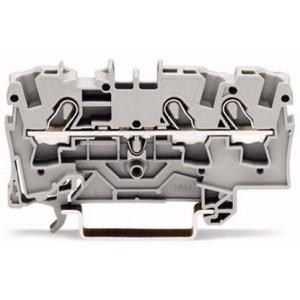 2004-1301 - TOPJOBS złączka 3-przewodowa 4 mm&sup2, szara