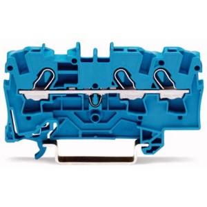 2004-1304 TOPJOBS złączka 3-przewodowa 4 mm² niebieska
