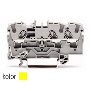 2004-1306 - TOPJOBS złączka 3-przewodowa 4 mm&sup2, żółta