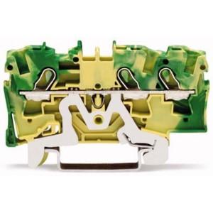 2004-1307 - TOPJOBS złączka 3-przewodowa 4 mm&sup2, żółto-zielona