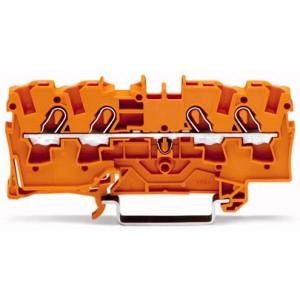 2004-1402 - TOPJOBS złączka 4-przewodowa 4 mm&sup2, pomarańczowa