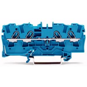2004-1404 - TOPJOBS złączka 4-przewodowa 4 mm&sup2, niebieska