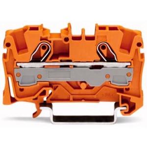 2006-1202 - TOPJOBS złączka 2-przewodowa 6 mm&sup2, pomarańczowa