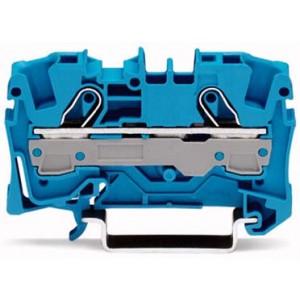 2006-1204 - TOPJOBS złączka 2-przewodowa 6 mm&sup2, niebieska