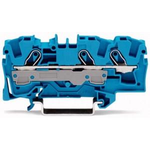 2006-1304 TOPJOBS złączka 3-przewodowa 6 mm² niebieska