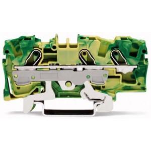 2006-1307 TOPJOBS złączka 3-przewodowa 6 mm² żółto-zielona