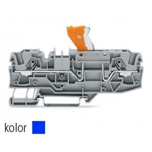 2006-1674 TOPJOBS złączka 2-przewodowa 6 mm² rozłączalna niebieska