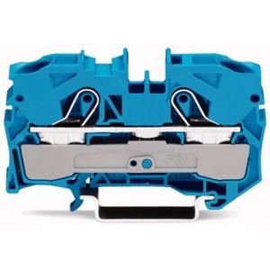 2010-1204 - TOPJOBS złączka 2-przewodowa 10 mm&sup2, niebieska