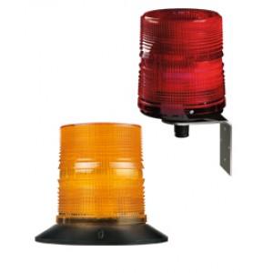 Lampa błyskowa PMF 2015 czerwona 230V, montaż kątowy 21007105010