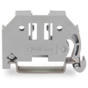 249-116 - bezśrubowa blokada końcowa na szynę TS 35 szer. 6 mm