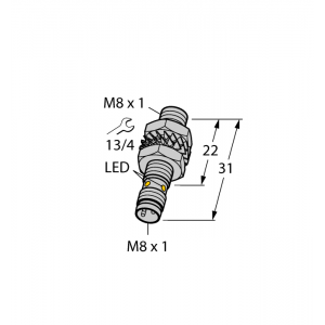 BI1.5-EG08K-AP6X-V1131 - Czujnik indukcyjny – 4672440