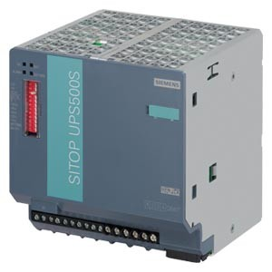 6EP1933-2EC51 - UPS500S SERVICE-FREE UNINTERRUPTIBLE POWER SUPPLY WITH USB-INTERFACE BASIC UNIT 5 KWS 24 V DC 24 V/15 A DC