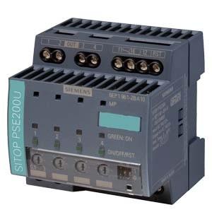 6EP1961-2BA11 - PSE200U 3 A 4-CHANNEL SELECTIVITY MODULE 24 V DC/12 A 24 V DC/4X 3 A
